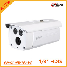 Dahua 720TVL Analog Security Camera DH-CA-FW18J-V2 1/3 HDIS Smart IR distance 50m 2D noise reduction Waterproof IP66 Outdoor use