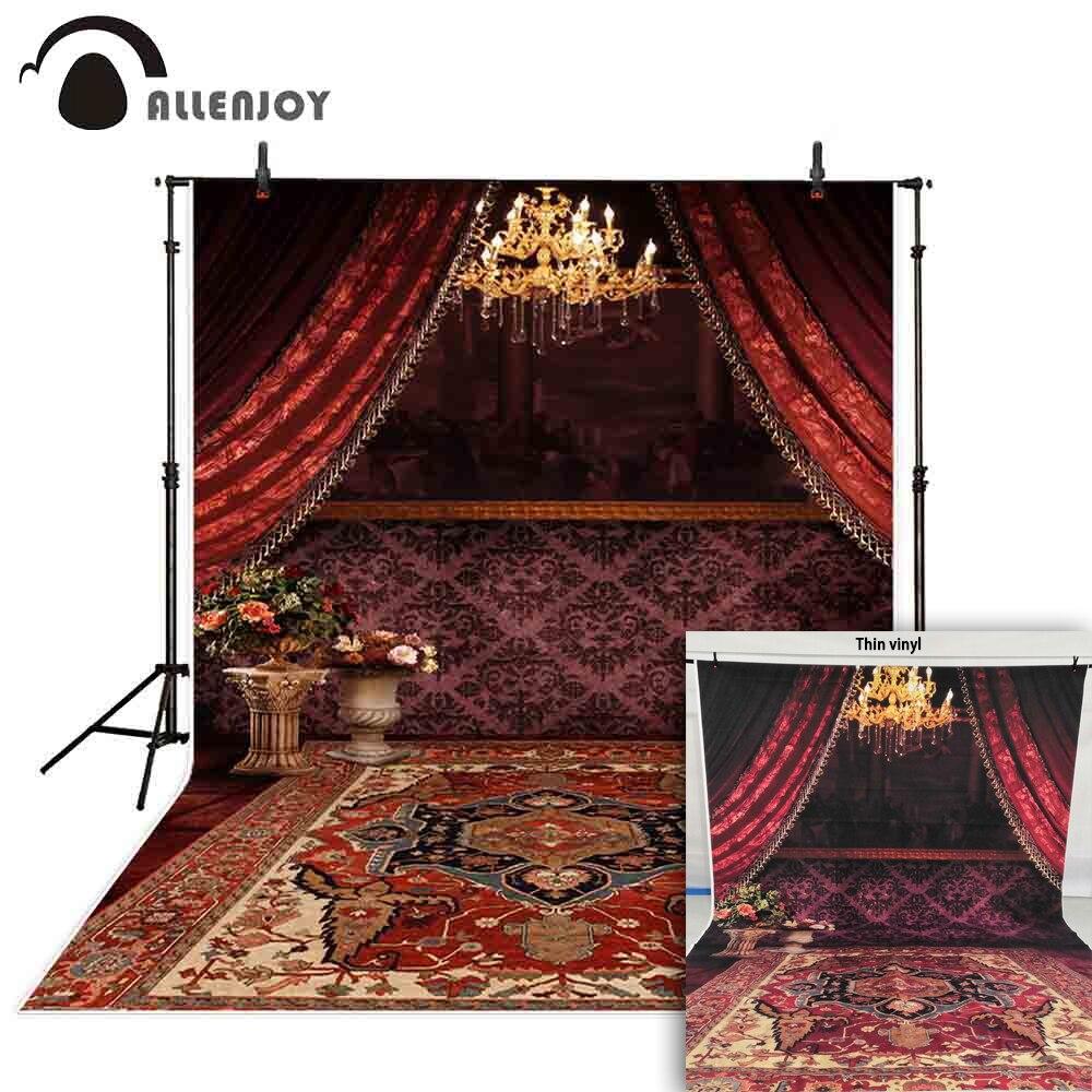 Red Carpet Chandelier: Allenjoy Wedding Photocall Background Red Chandelier