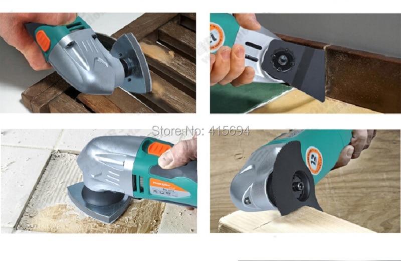 Kandekarp: mitme ostsillaadiga tööriist, multifunktsionaalne - Elektrilised tööriistad - Foto 3