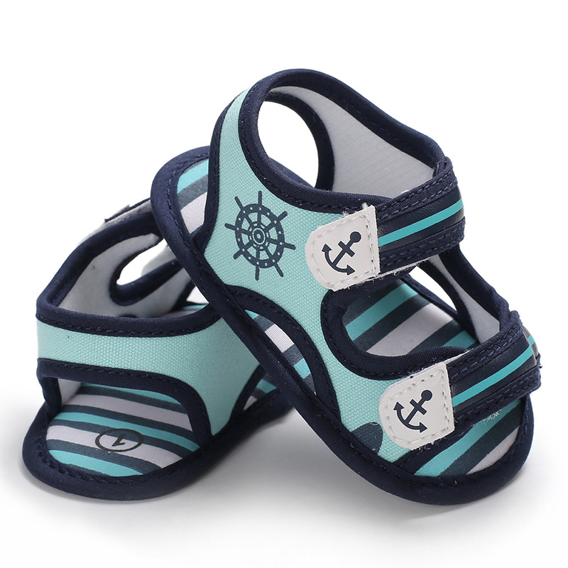 Baby Boys Sandals 2019 Shoes Newborn Summer Soft Sole Footwear Infant Shoes For Baby Anti-slip Bebes Kids Crib Shoes 0-18 M