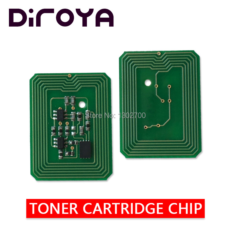 4 PCS K C M Y 200-100225 100222 100223 100224 cartucho de toner chip Para xanté ilumina 502 502GS 502GS cor pó Refil de reset