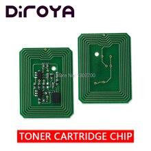 цена на 1set K C M Y 200-100225 100222 100223 100224 toner cartridge chip For xante ilumina 502 502GS powder Refill counter reset chips