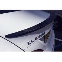 W117 C177 углеродного волокна задний спойлер cla250 260 Mercedes cla45 AMG стиль спойлер для Benz 2013 ~ 2015