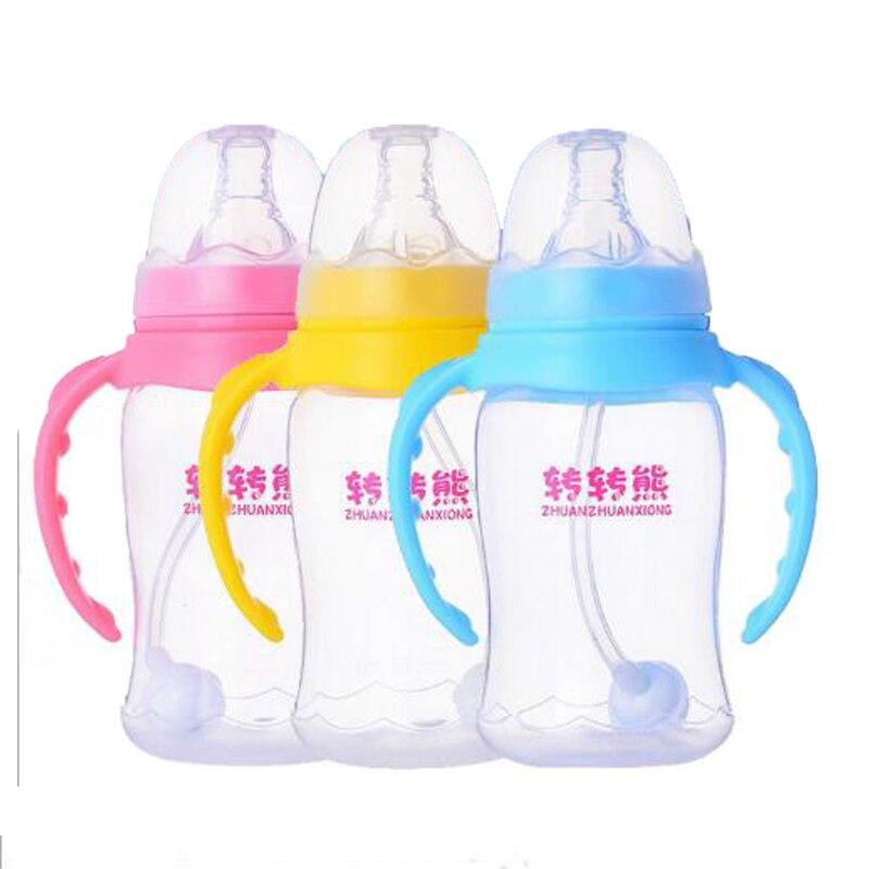 ツ)_/¯Bebé 150 ml alta calidad PP Botellas bebé Alimentación pequeña ...