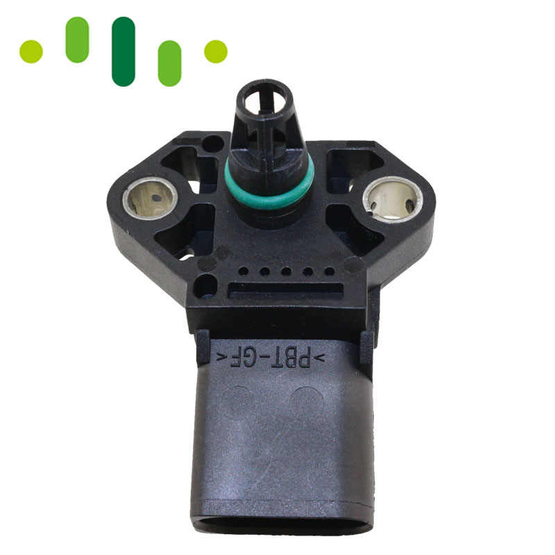 2 5 BAR Manifold Intake Air Turbo Boost Pressure MAP Sensor For Audi A1 A2  A3 A4 A6 A8 1 2 1 4 1 9 2 5 2 7 3 0 4 0 TSI TDI TFSI
