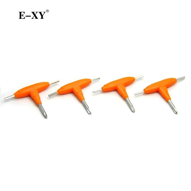 E XY 10pcsT shaped screwdriver E Cigarette Accessories DIY tools for ...