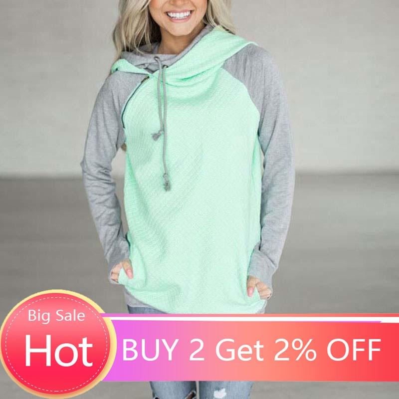 Autumn Hoodie Sweatshirt Women Hooded Sweatshirt Warm Female Hoodies Women Hoody Ladies Plus Size Winter Sweatshirt
