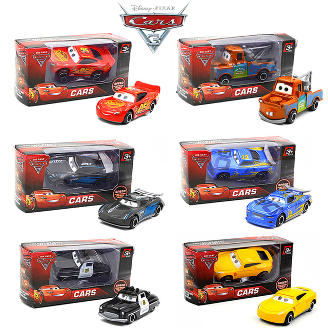 1 64 a disney pixar cars 3 brinquedo do carro de metal black storm jackson curz de rel mpago. Black Bedroom Furniture Sets. Home Design Ideas