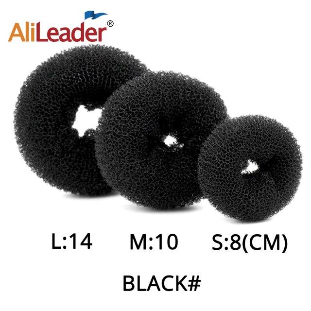Alileader Hot Fashion Magic Hair Bun Maker Accesories Chignon Magique Hair Donut Bun For Women Hair Styling Tools White/Brown 4