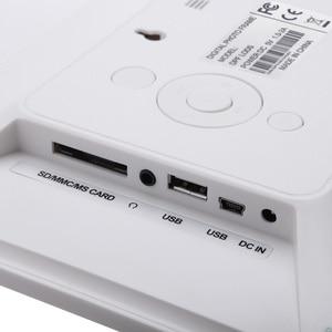 Image 4 - Andoer 8 ultracienki 1024*600 HD TFT LCD fotografia cyfrowa ramka budzik MP3 MP4 odtwarzacz filmów z pilotem pulpit