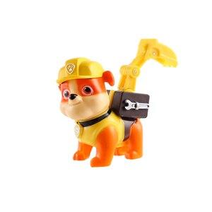 Image 3 - 6 יח\סט Paw סיירת Patrulla Canina אנימה איור פעולה דמויות גור סיירת רכב צעצוע Patroling כלבי צעצועים לילדים
