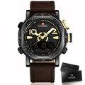 NAVIFORCE Brand LED Digital Sport Wrist Watch Men's Military Waterproof Watches Fashion Analog Digital Watch Men Wristwatches