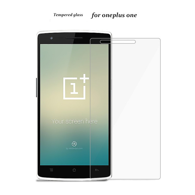 Oneplus one Screen Protector Oneplus one Tempered Glass for Oneplus One Plus one 1+1 OPO Phone free shipping