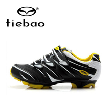 Tiebao Professional Men Cycling Shoes Bicycle Bike Racing Athletic Shoes Breathable MTB Self-Locking Shoes zapatillas ciclismo