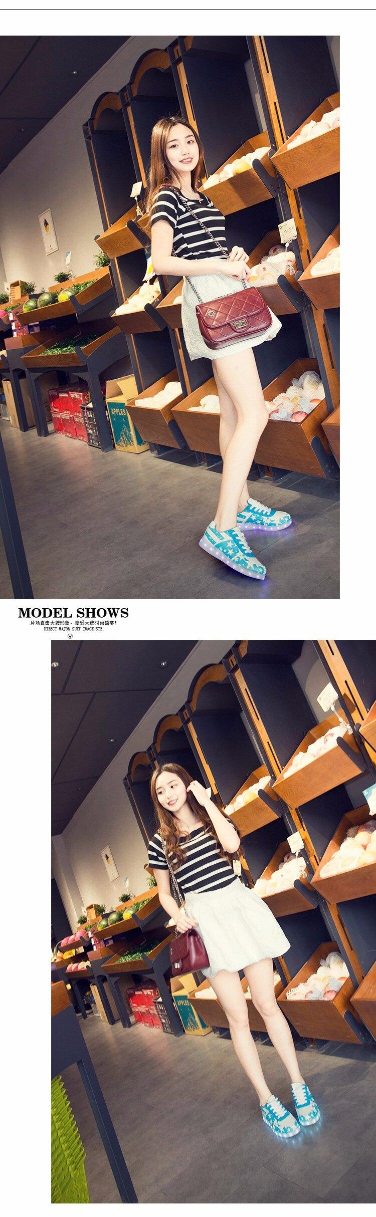 led light shoes