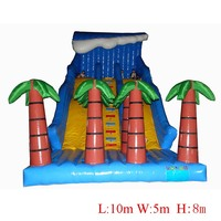 Inflatable slides for children water park equipment slide