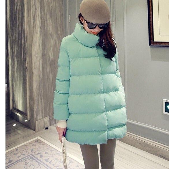 Хорошее Качество Длинное Пальто Версия Плюс размер Зимнее Пальто Женщин Теплый Парки Двубортный Хлопка мягкой И Пиджаки S-XXL C51002
