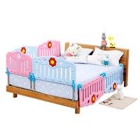 Экологически чистые материалы шпаргалка детская прикроватная безопасность барьер 2 м 1,8 м кровать анти капля перегородка Универсальная