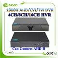 4ch 8ch 16ch 1080N HD AHD-NH/CVI TVI AHD DVR AHD-M TVR AVR CVR CCTV Camera Recorder Pode Se Conectar a AHD-H 1080 P HDMI saída