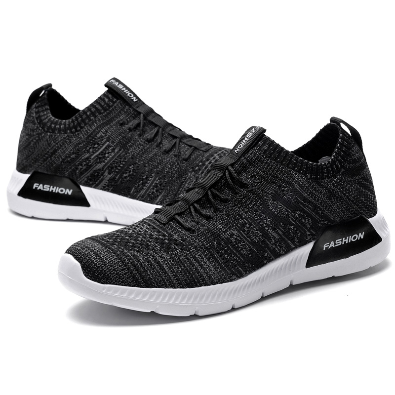 Socks shoe Men Running Shoes light Breathable Weave Sneakers for mens Lace up Free Run Sports Fitness Walking Athletic Shoes