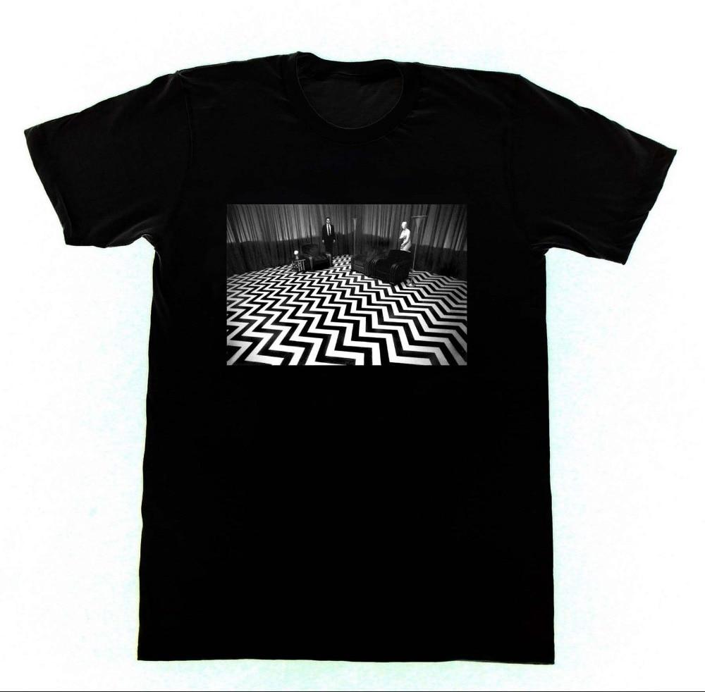High Quality T Shirt Short Twin Peaks Room David Lynch Crew Neck Summer Tee Shirt For Men