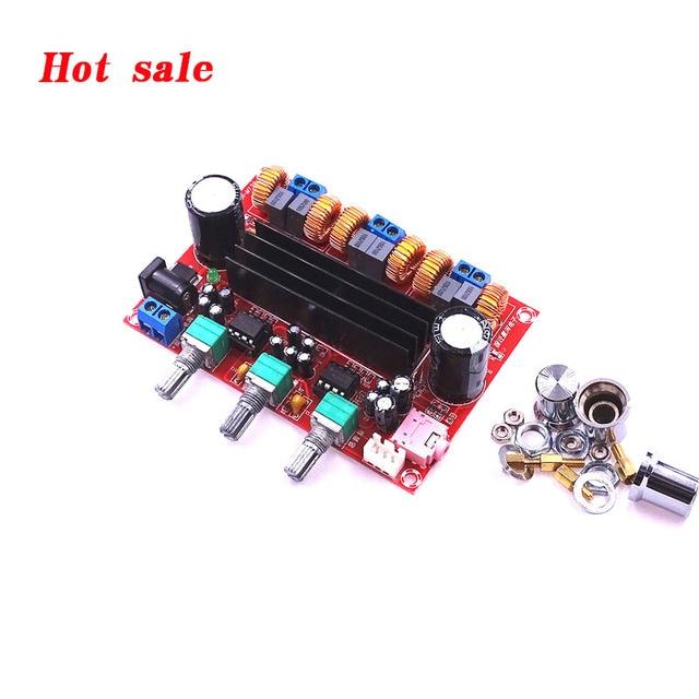 2019 hot sale DC12V-24V 2*50W+100W TPA3116D2 Amplifier Board 2.1 Channel digital Subwoofer audio Amplifier Board