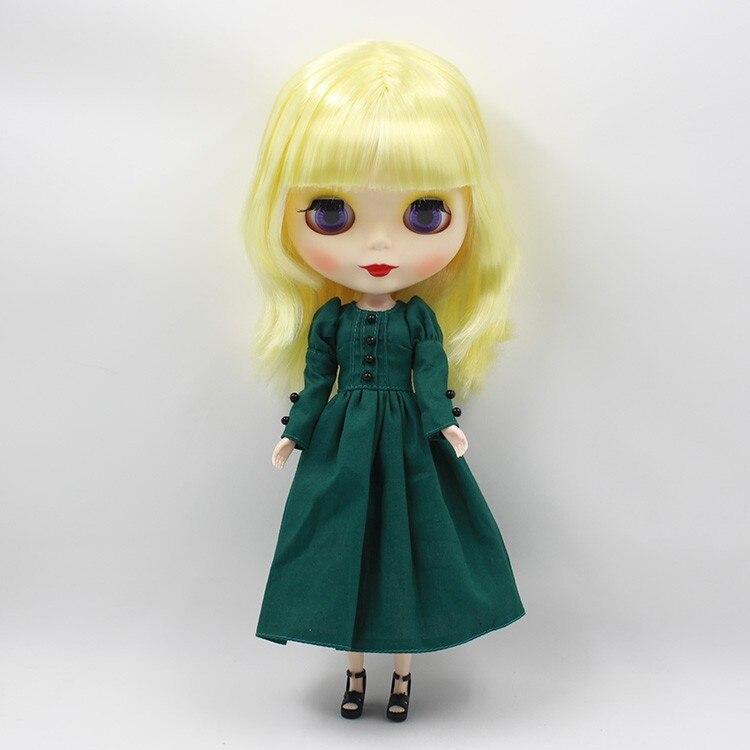 Neo Blythe Doll Vintage Dress 4