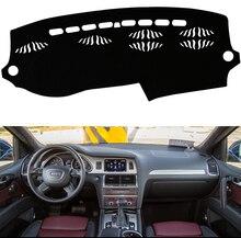 For Audi Q7 2007-2015 Car Dashboard Covers Dashmats Pad Auto Shade Cushion Carpet Protector 2012 2013 2014