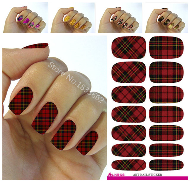 40 Fashion Nail Stickers Plant Color Nail Art Design Water Stunning Decorative Nail Art Designs
