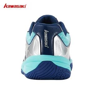 Image 5 - Kawasaki Zapatillas de bádminton para hombre, zapatos de entrenamiento profesional para deportes de interior, antideslizantes, resistentes, K 159, 2019