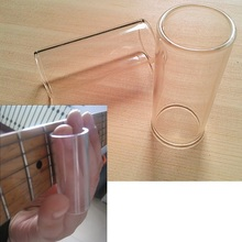 Comfortable Glass Guitar Slide Finger Slider Guitarra Accessories Length 60mm Diameter 22mm Thickness 2mm
