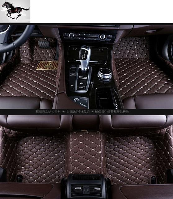 Topmats Car Floor Mats For Bmw 6 Series Waterproof Leather Custom Fit Carpets Cargo Mat Set