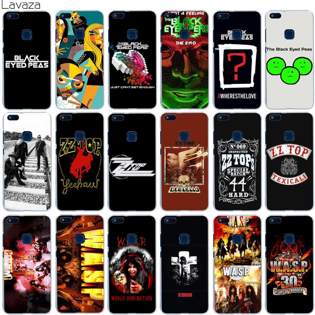 Lavaza The Black Eyed Peas ZZ Top W.A.S.P Band Case for Huawei Honor Mate Nova 9 P20 2i 2 2s P Smart Lite Pro Plus