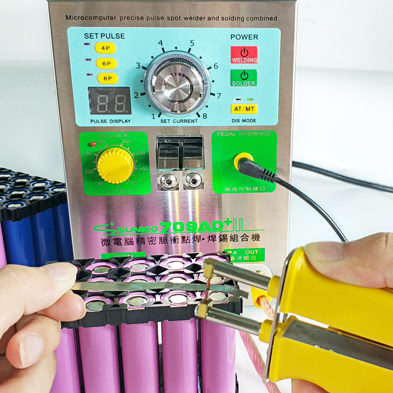 Image 5 - 709AD+ lithium battery induction automatic spot welding machine 3.2KW high power maximum welding thickness 0.35mm welding machinbattery spot welding machinespot welding machinebattery spot welding - AliExpress