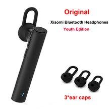 Новый Xiaomi Bluetooth Наушники Молодежное Издание Гарнитура Bluetooth 4.1 Xiaomi Mi LYEJ02LM Наушники встроенный Микрофон Handfree