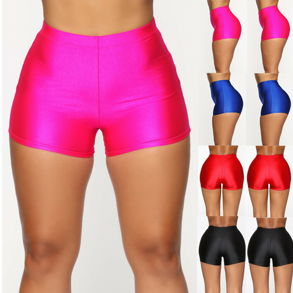 Women's 2019 Summer Sport Fitness Bike Shorts Soft Stretch Leggings Cotton Spandex Workout Yoga Jogger Shorts Tracksuit Outfit