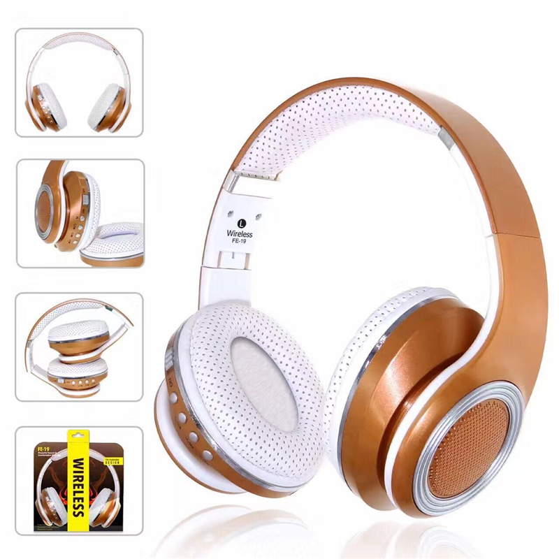 2017 Bluetooth 4.2 Wireless Headphones Game Headset Bluetooth Earphone for iPhone Samsung HTC LG &PC Tablet Laptop Foldable