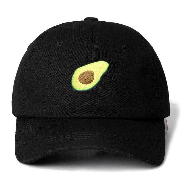 3245f1e49c3 Avocado Snapback Cap Cotton Baseball Cap For Men Women Adjustable Hip Hop  Dad Hat Bone Garros Dropshipping