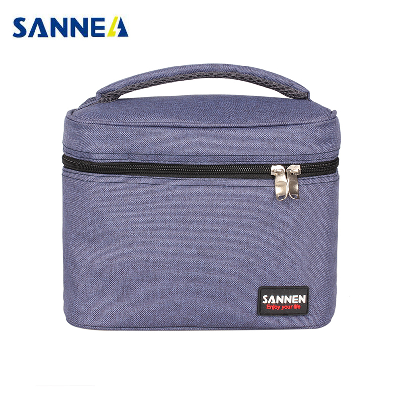 5l portable thermal lunch bag for men women insulated cooler bag thermo bag for foods picnic