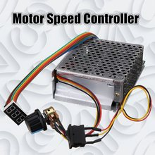 DC10 50V 60A 3000 واط عكسها وحدة تحكم في سرعة محرك التيار المستمر PWM التحكم 12 فولت 24 فولت 36 فولت 48 فولت إلى الأمام توقف عكس الفرامل شاشة ديجيتال