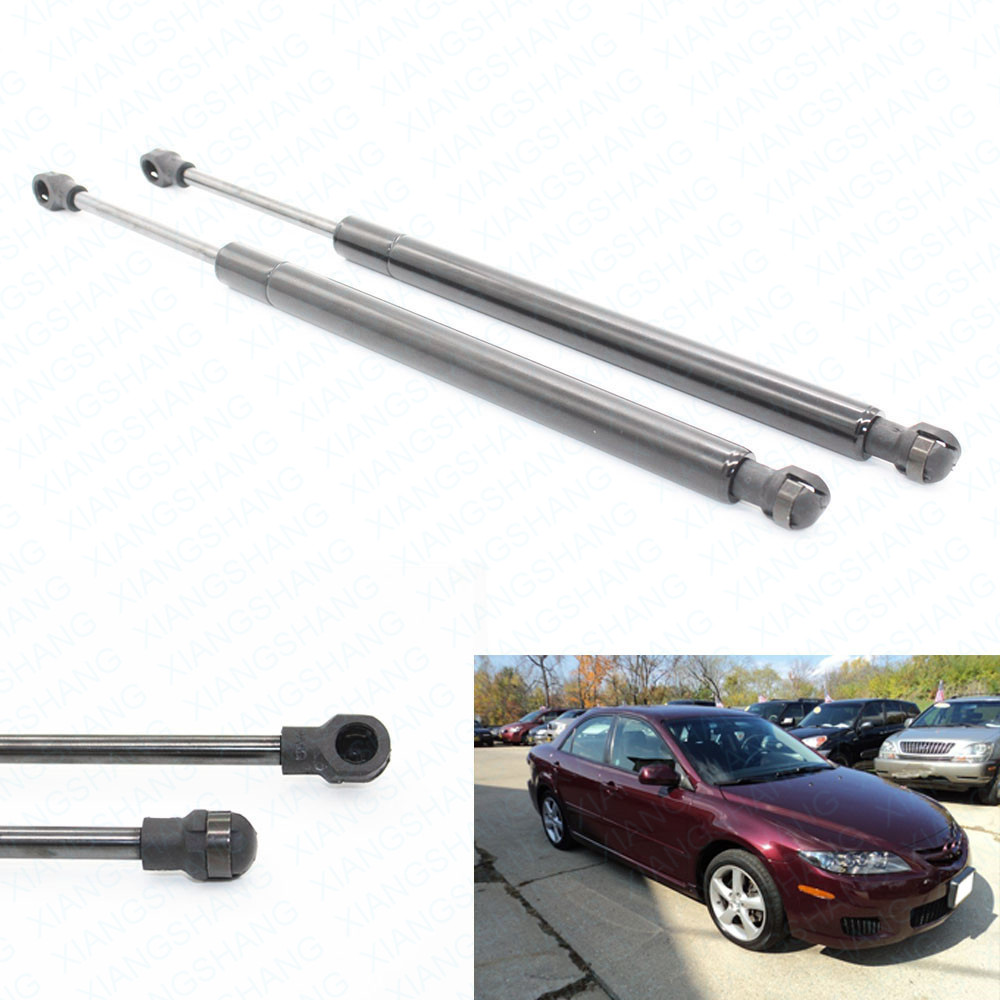 Mazda 6 2002 2008 Estate Tailgate Boot Gas Strut: For 2003 2004 2005 2006 23007 2008 Mazda 6 W/O Spoiler Sedan 10.98 Inch Trunk Boot Gas Lift
