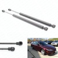 for 2003 2004 2005 2006 23007 2008 Mazda 6 W/O Spoiler Sedan 10.98 inch Trunk Boot Gas Lift Supports Struts Prop Rod Shocks