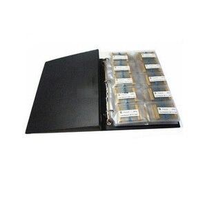 Image 2 - 1 W folii metalowej 1% 127valuesX10pcs = 1270 sztuk 1R ~ 1 M różne rezystor zestaw próbki książki