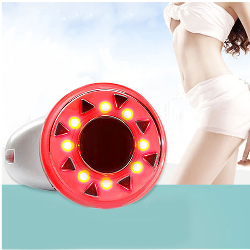 Potable RF Cavitation Ultrasonic LED Body Slimming Massager Fat Burner Anti Cellulite Lipo Radio Frequency Massage Beauty  Devic 3 in 1 ultrasonic rf cavitation vacuum liposuction cellitule wrinkle fat reduction body sculpting slimming massager machine