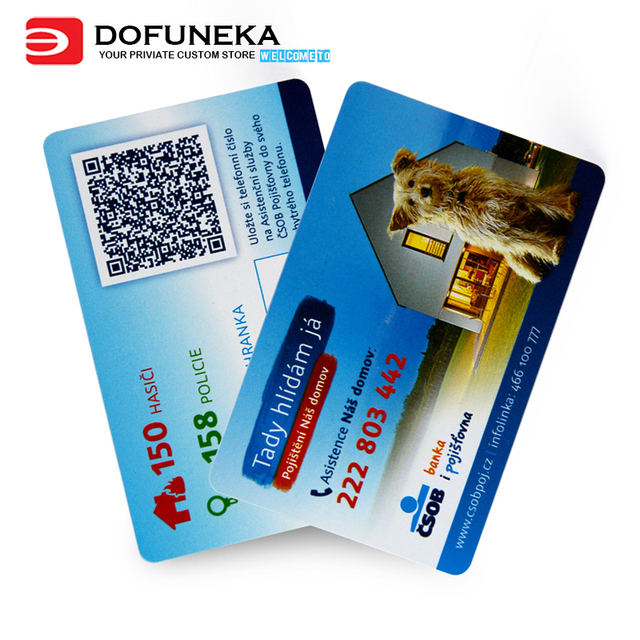 0 76mm Thickness Cr 80 Pvc Cards Printing Factory Directly Price Plastic Business Card