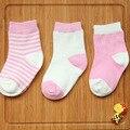 Calcetines para Recién Nacidos Del Bebé Girl & Boy Calcetines 100% Algodón Niños Calcetines calcetines de Bebé 0-36 Meses