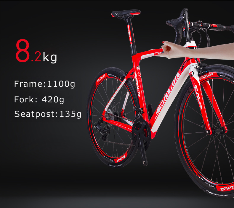 HTB1ota0aLvsK1Rjy0Fiq6zwtXXaj - SAVA Carbon Highway bike Highway Bicycle 700c Carbon Bike Herd 9.zero Biking Pace Highway Bike 22 Pace bicycle Full carbon Body/wheelset