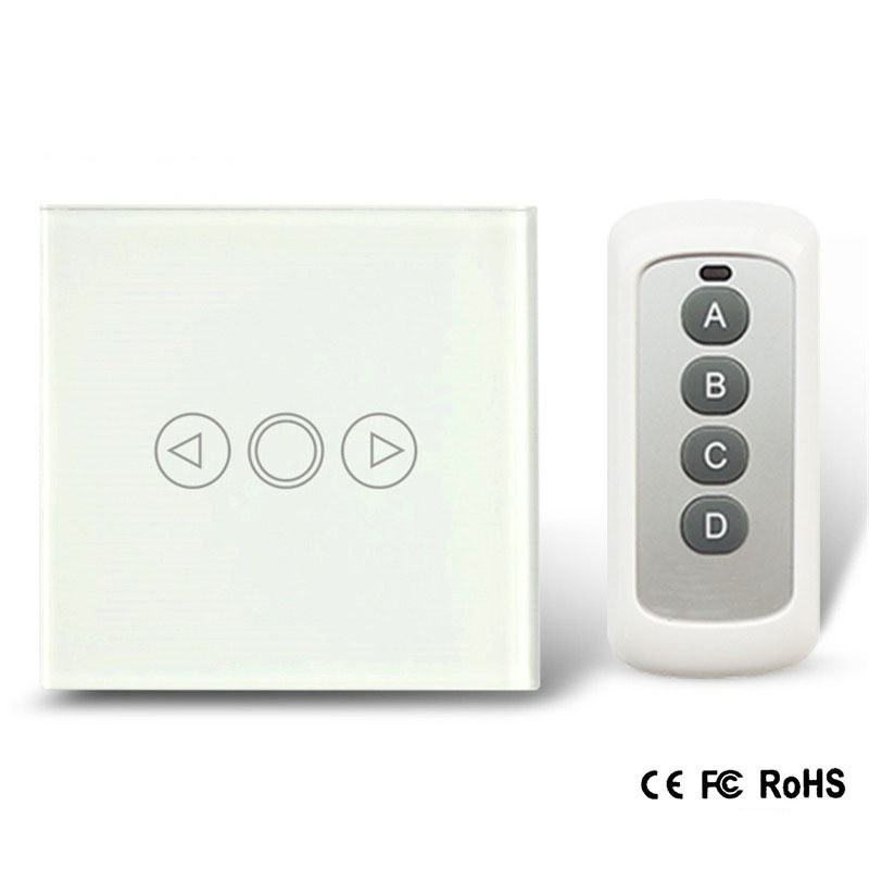 EU-Standard-Wireless-Dimmer-Switch-Touch-Remote-Control-Dimmer-Light-Switch-Crystal-Glass-Panel-with-LED (1)