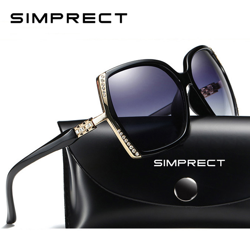 6724178572 Mujeres 2019 Gran Tamaño Sol Las Simprect Gafas De Polarizado kXn0OP8w