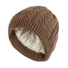 Mujeres Hombres grueso invierno cálido pato abajo sombreros de punto  elástico Slouchy gorros de otoño gorras dcbd9ed35b2e